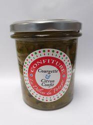 Confiture courgette/citron confit  350G  LES DELICES DU POTAGER  fabrication artisanale 78 FEUCHEROLLES