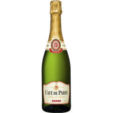 Vin mousseux brut CAFE DE PARIS, 75cl