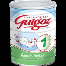 GUIGOZ, formule épaissie 1er âge boîte de 820g
