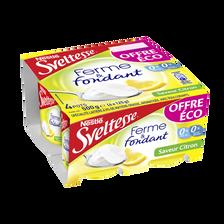 Nestlé Spécialité Laitière Saveur Citron Ferme Et Fondant Citron Sveltesse, 4x125g