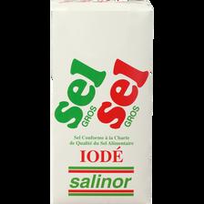 Gros sel salinor etui , carton de 1kg