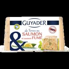 Guyader Terrine De Saumon Et Saumon Fumé , 350g