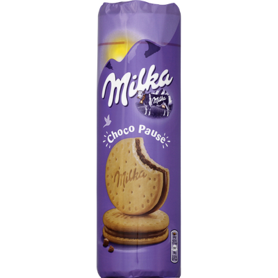 Biscuits choco pause MILKA, 260g