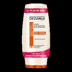 Après-shampoing nutri réparateur gelée royale DESSANGE, 2x200ml