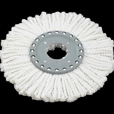 Tête de rechange Clean Twist Disc Mop Active LEIFHEIT, microfibresabsorbantes pour une absorption élevée de la saleté