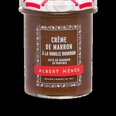 Crème de marron vanillée ALBERT MENES,280g