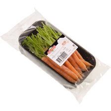 Mini carotte, France, barquette 200g
