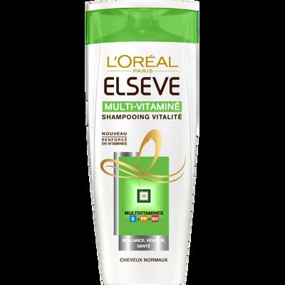 Shampooing multivitaminé Regular pour usage fréquent ELSEVE, 250ml