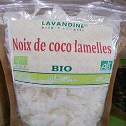 noix de coco lamelles bio 125g