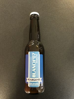 BIERE BLANCHE BOURGANEL 33CL