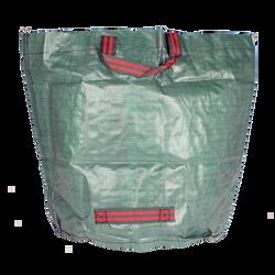 Sac à déchet vert U, rond, 90l