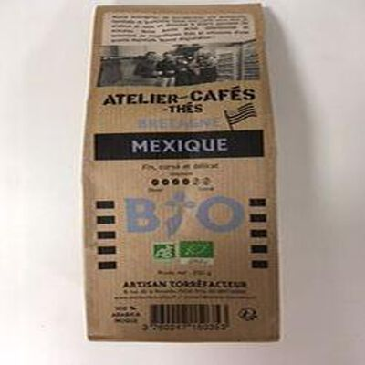 CAFE MOULU MEXIQUE BIO 250G