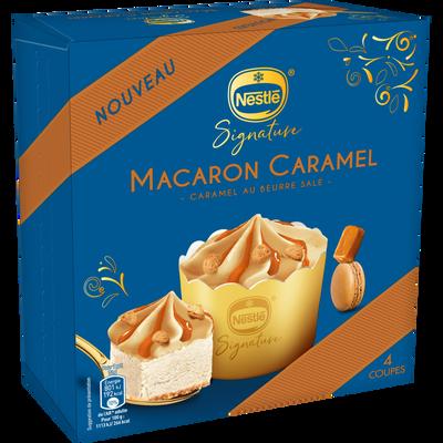 Dessert individuel macaron caramel NESTLE, 288g