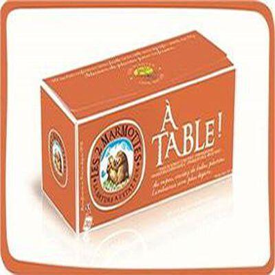 """Les 2 Marmottes """" A TABLE"""" boite de 30 sachets, 51g"""