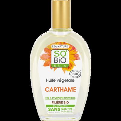 Huile végétale de carthame SO'BIO 50ml