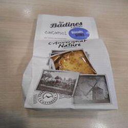 Biscuits sucrés au caramel  les badines d'Auvergne  artisan biscuitier 140g