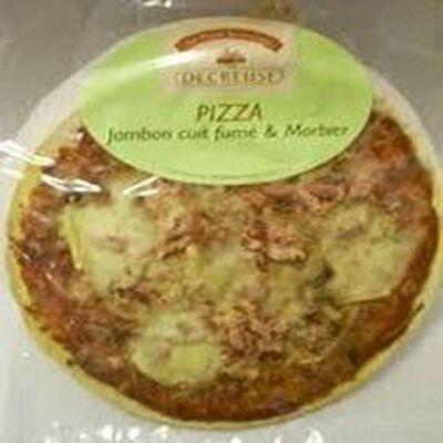 Pizza Jambon Cuit Fumé Et Morbier - DECREUSE