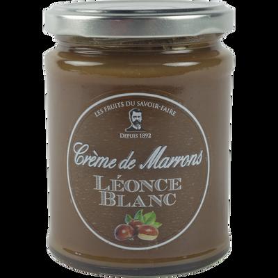Crème de marrons vanillée LEONCE BLANC, 350g