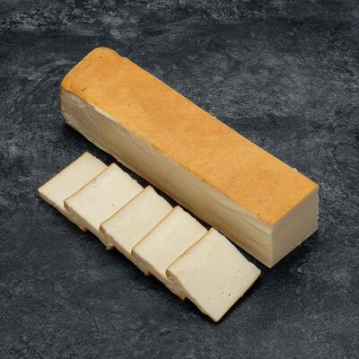 Fromage pour raclette fumée au feu de bois au lait pasteurisé,27%Mat.Gr.