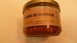TERRINE DE CHEVREUIL 200G