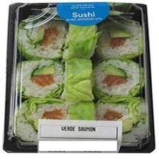 VERDE SAUMON, 9 pièces de verde saumon, sauce soja, gingembre et wasabi