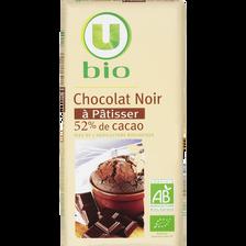 Chocolat patissier U BIO, tablette de 200g