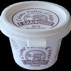 Crème fraîche Vallée d'Auge GRAINDORGE, 42%MG, 20cl