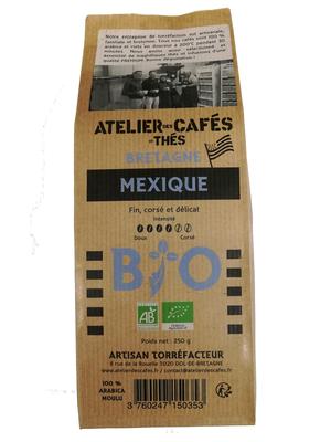 CAFE MOULU MEXIQUE BIO 250G