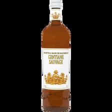 Boisson aromatisée à la gentiane U, 15°, bouteille de 1l