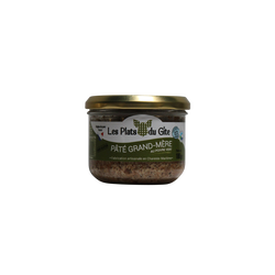 Pâté grand mère au poivre vert PLAT DU GITE, bocal de 180g