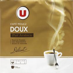 Café moulu arabica doux U, 2x250g