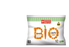 Carottes rondelles bio cuites PAYSAN BRETON, 500g