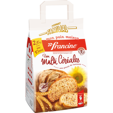 Préparation pour pain multi-céréales FRANCINE, 2,5kg