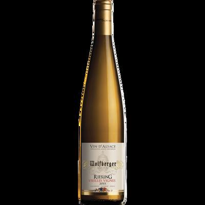 Vin blanc AOC riesling vieilles vignes WOLFBERGER, 75cl