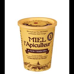 Miel de nos terroirs crèmeux MIEL L'APICULTEUR, pot carton 500g
