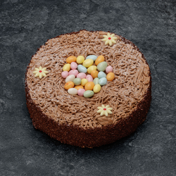 Nid de Pâques Chocolat décongelé, 1 pièce, 130g