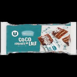 Moelleux coco fourré au lait U, 390g