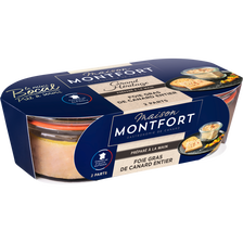 Montfort Foie Gras De Canard Entier Recette Grand Héritage Maison , 2 Mini Bocaux De 40g