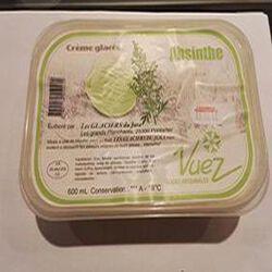 Crème Glacée à l Absinthe