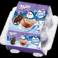Chocolat snowball oreo MILKA, 112g
