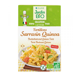Tortillons sarrasin quinoa - Jardin Bio - 340g