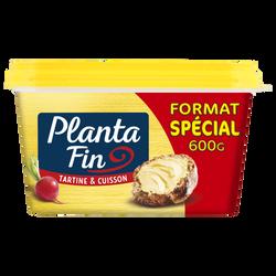 Matière grasse allégée doux 60%mg tartine & cuisson PLANTA FIN, 600g Format Spécial