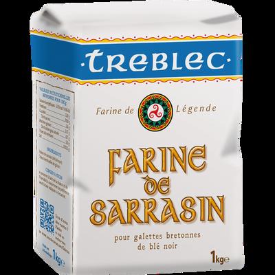 Farine de blé noir TREBLEC, 1kg