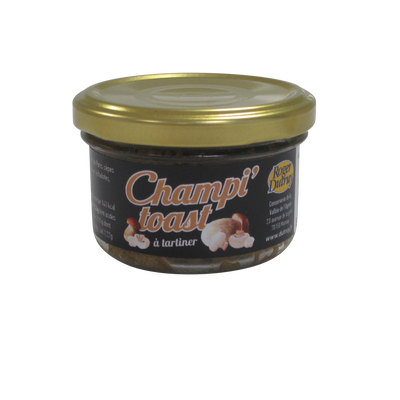 Champi'toast tartinable à base de champignons DUTRUY 80g