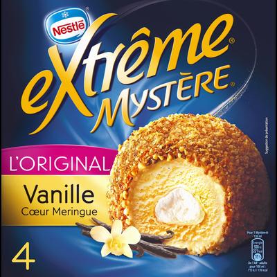 Mystères vanille coeur meringue EXTREME, 4 unités, 308g