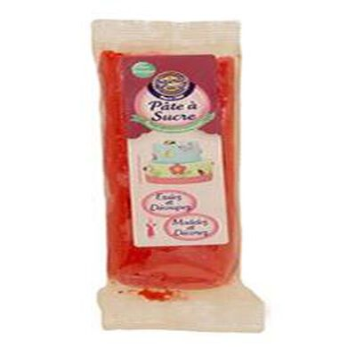 pate a sucre rouge