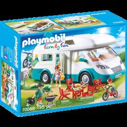 Playmobil Family Fun - Famille et camping-car - 70088 - Dès 4 ans