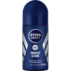 Déodorant protect & care 48 heures Men NIVEA, bille de 50ml