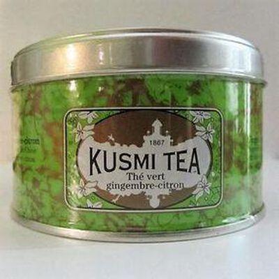 Thé vert de Chine gingembre et citron KUSMI TEA,125g