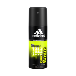 Déodorant Pure Game ADIDAS MEN, atomiseur de 150ml
